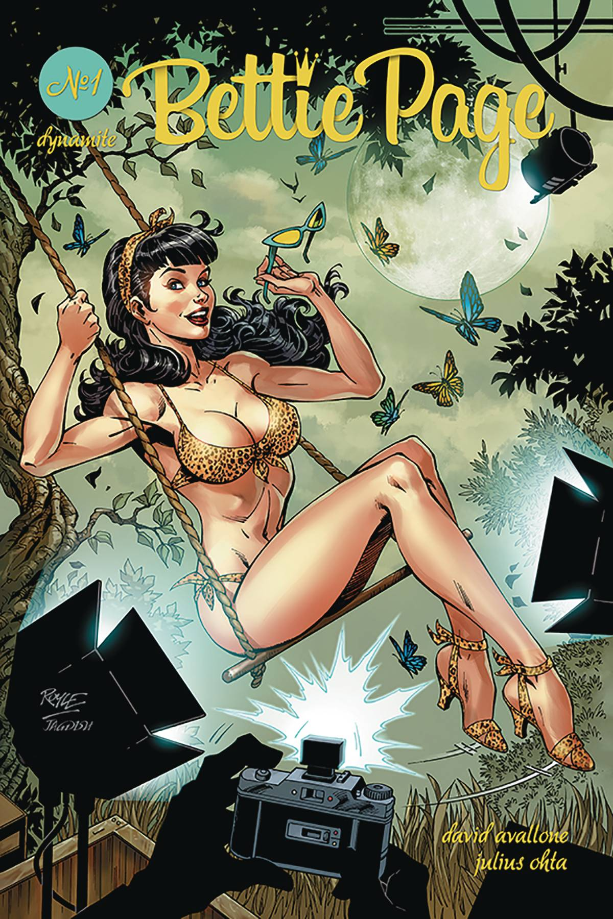 Bettie Page #1 (2018)