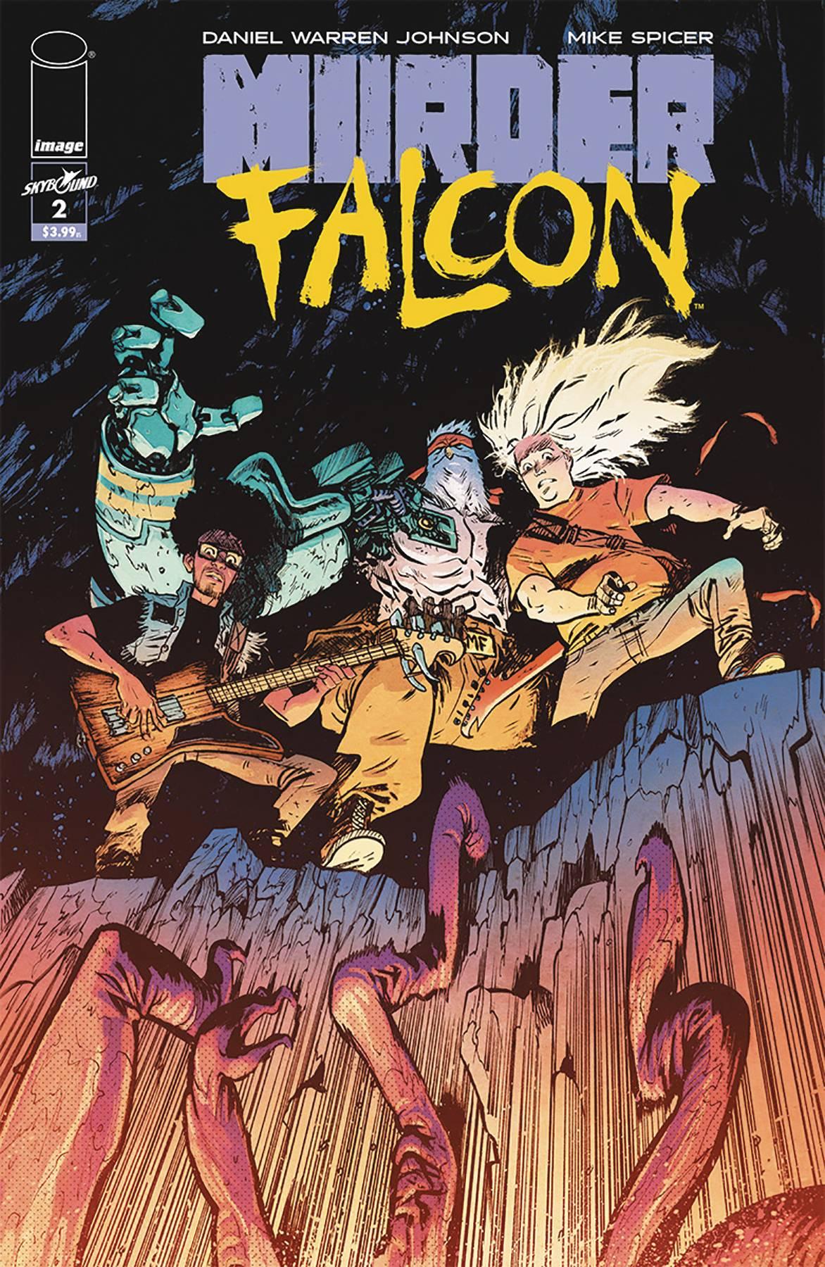 Murder Falcon #2 (2018)