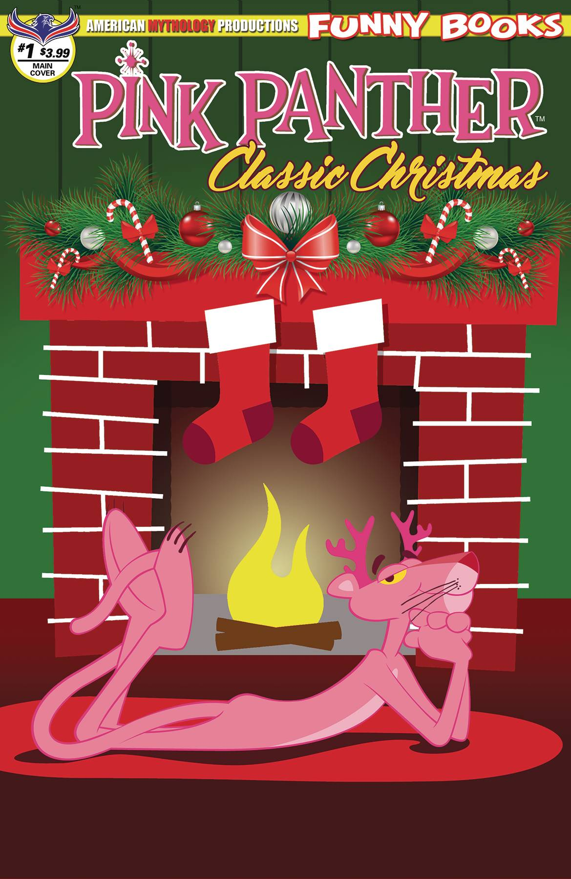 Pink Panther Classic Christmas #1 (2018)