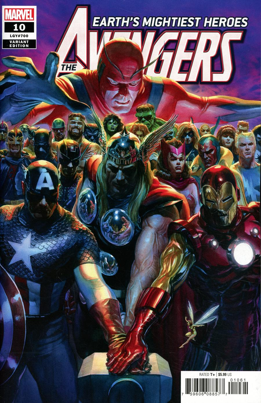 The Avengers: Earth's Mightiest Heroes #10 – CovrPrice