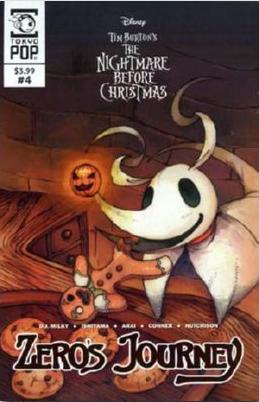 The Nightmare Before Chirstmas: Zero's Journey #4 (2018)