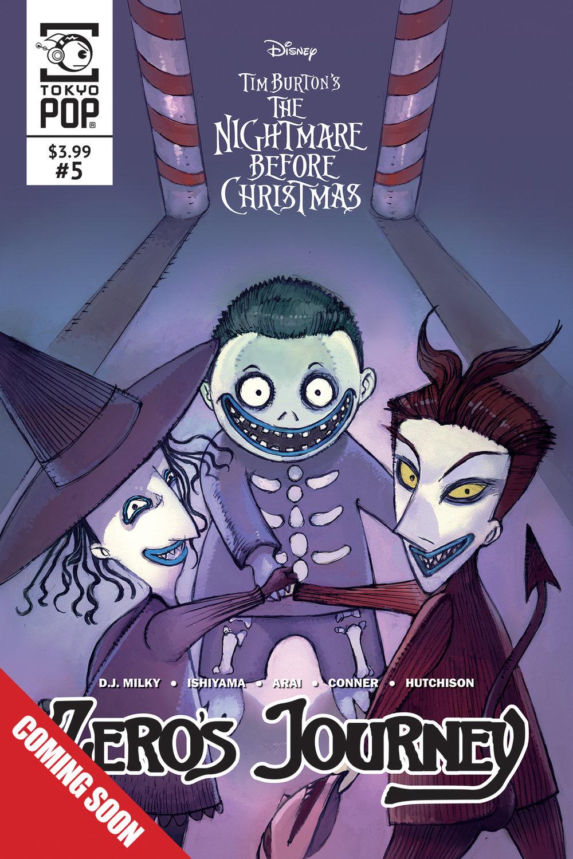 The Nightmare Before Chirstmas: Zero's Journey #5 (2018)