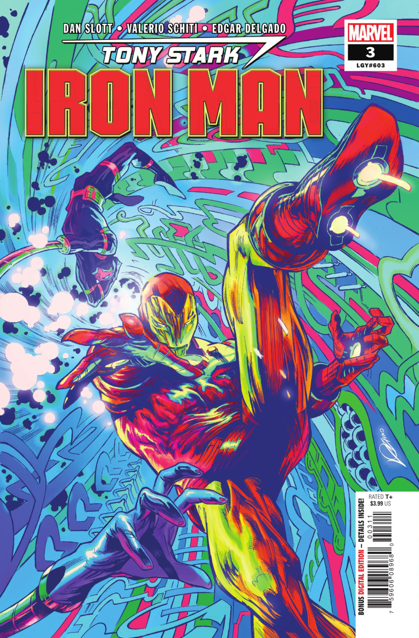 Tony Stark: Iron Man #3 (2018)