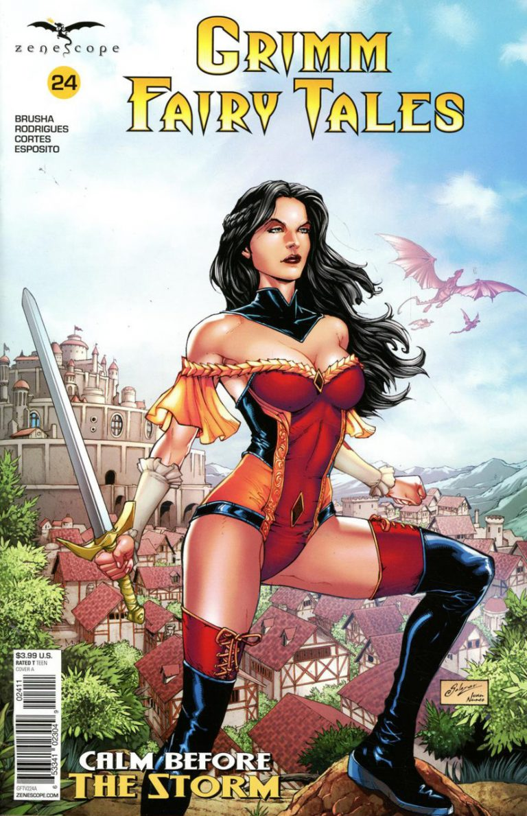 Grimm Fairy Tales #24 (2018)