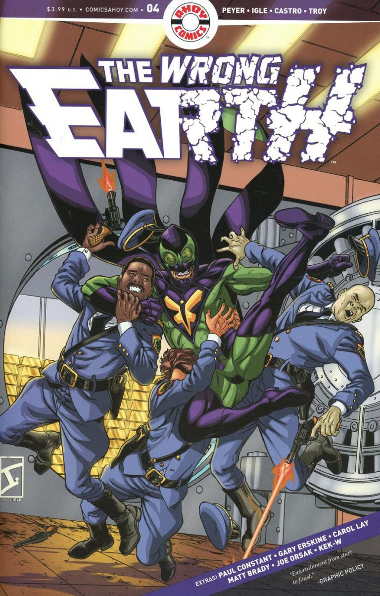 Wrong Earth #4 (2018)