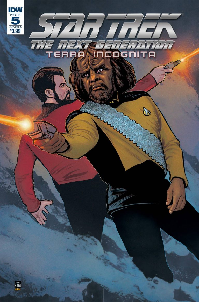 Star Trek The Next Generation: Terra Incognita #5 (2018)