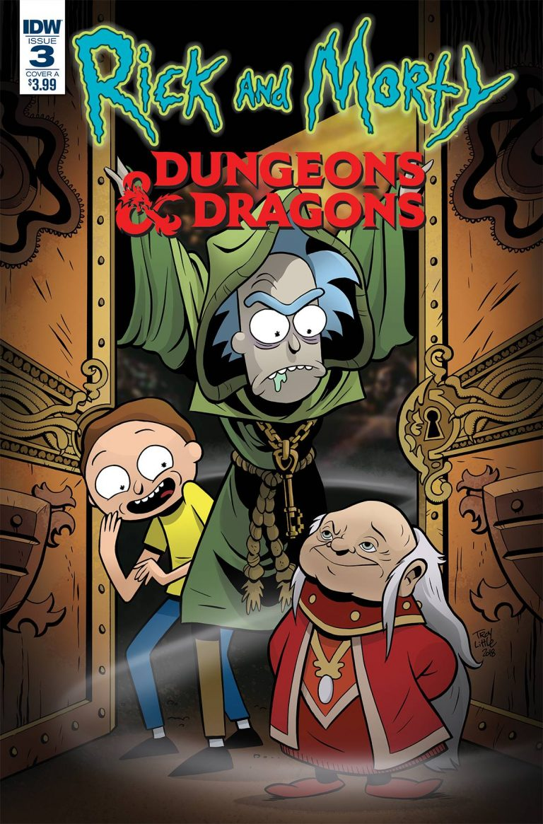 Rick and Morty vs. Dungeons & Dragons #3 (2018)