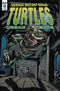 Teenage Mutant Ninja Turtles: Urban Legends #8 (2018)