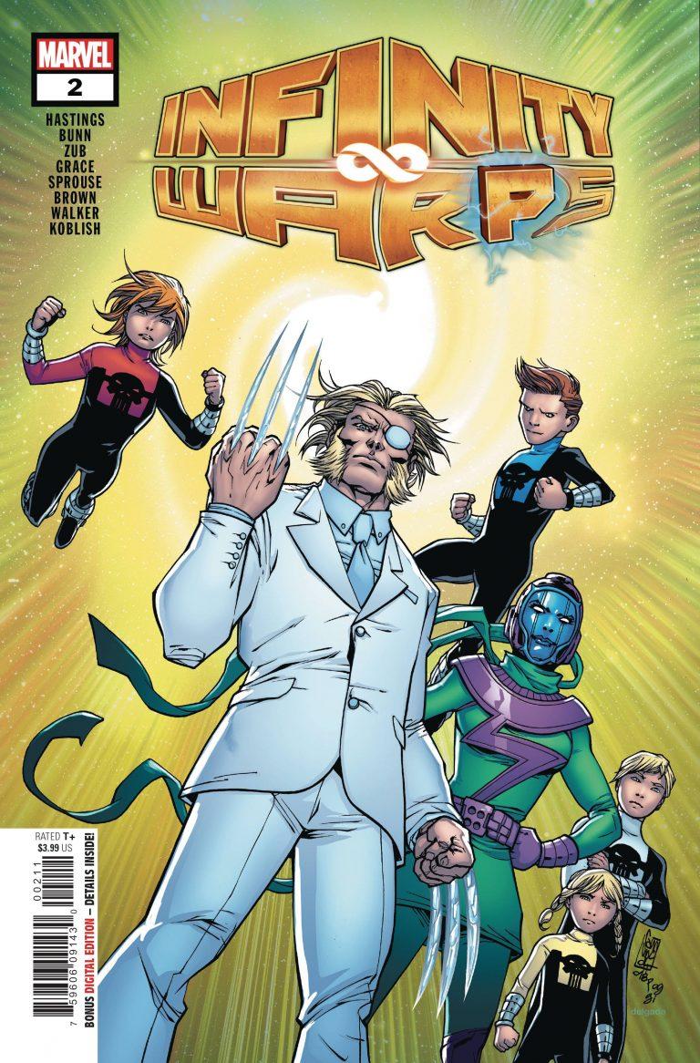 Infinity Wars: Infinity Warps #2 (2018)