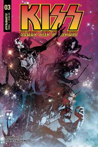 Kiss: Blood and Stardust #3 (2018)