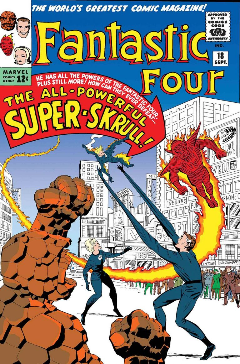 True Believers: Fantastic Four - Super Skrull #1