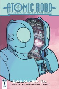 Atomic Robo and the Dawn Of a New Era #1 (2019)