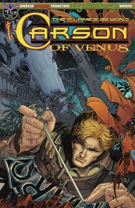 Carson Of Venus: The Flames Beyond #1 (2019)