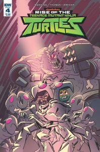 Teenage Mutant Ninja Turtles: Rise of the TMNT #4 (2019)