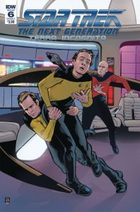 Star Trek The Next Generation: Terra Incognita #6 (2019)