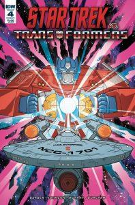 Star Trek vs Transformers #4 (2019)
