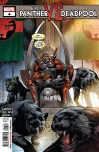 Black Panther vs Deadpool #4 (2019)