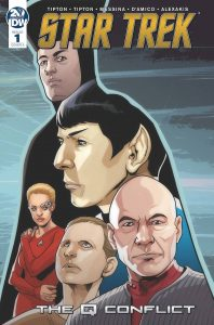 Star Trek: The Q Conflict #1 (2019)