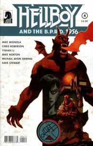 Hellboy and the BPRD: 1956 #4 (2019)