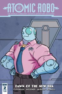 Atomic Robo and the Dawn Of a New Era #2 (2019)