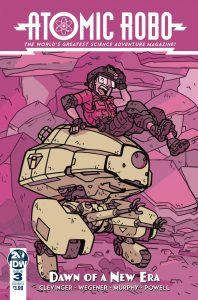 Atomic Robo and the Dawn Of a New Era #3 (2019)