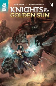 Knights Of The Golden Sun #4 (2019)