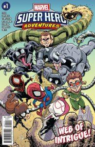Marvel Super Hero Adventures: Spider-Man - Web Of Intrigue #1 (2019)