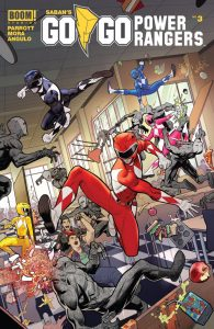 Go Go Power Rangers #3 (2017)