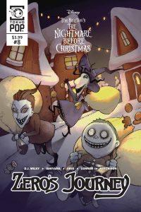 The Nightmare Before Chirstmas: Zero's Journey #8 (2019)