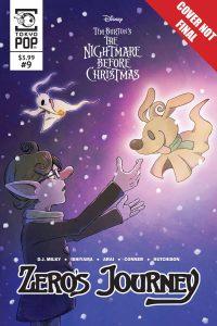 The Nightmare Before Christmas: Zero's Journey #9 (2019)