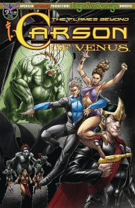 Carson Of Venus: The Flames Beyond #3 (2019)