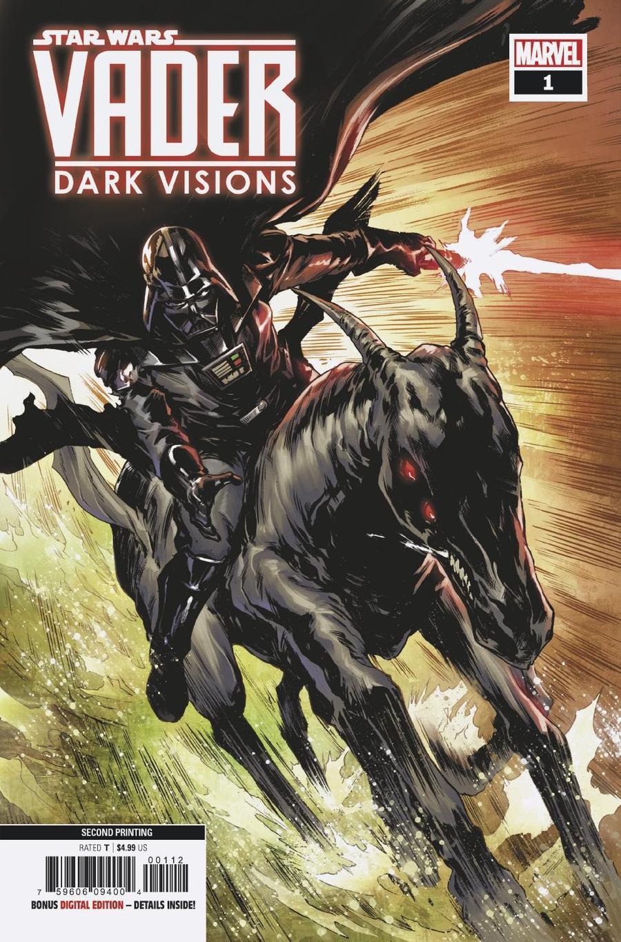 Star Wars: Vader – Dark Visions #1 – 2nd Printing – CovrPrice