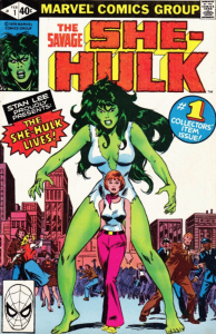 The Savage She-Hulk #1 (1980)