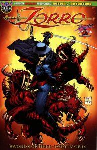Zorro: Swords Of Hell #4 (2019)