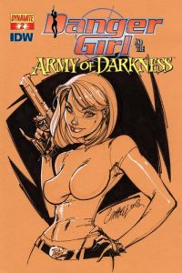 Danger Girl and the Army of Darkness #2 (2011)