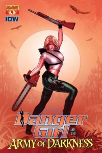 Danger Girl and the Army of Darkness #4 (2011)