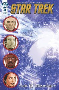 Star Trek: The Q Conflict #4 (2019)
