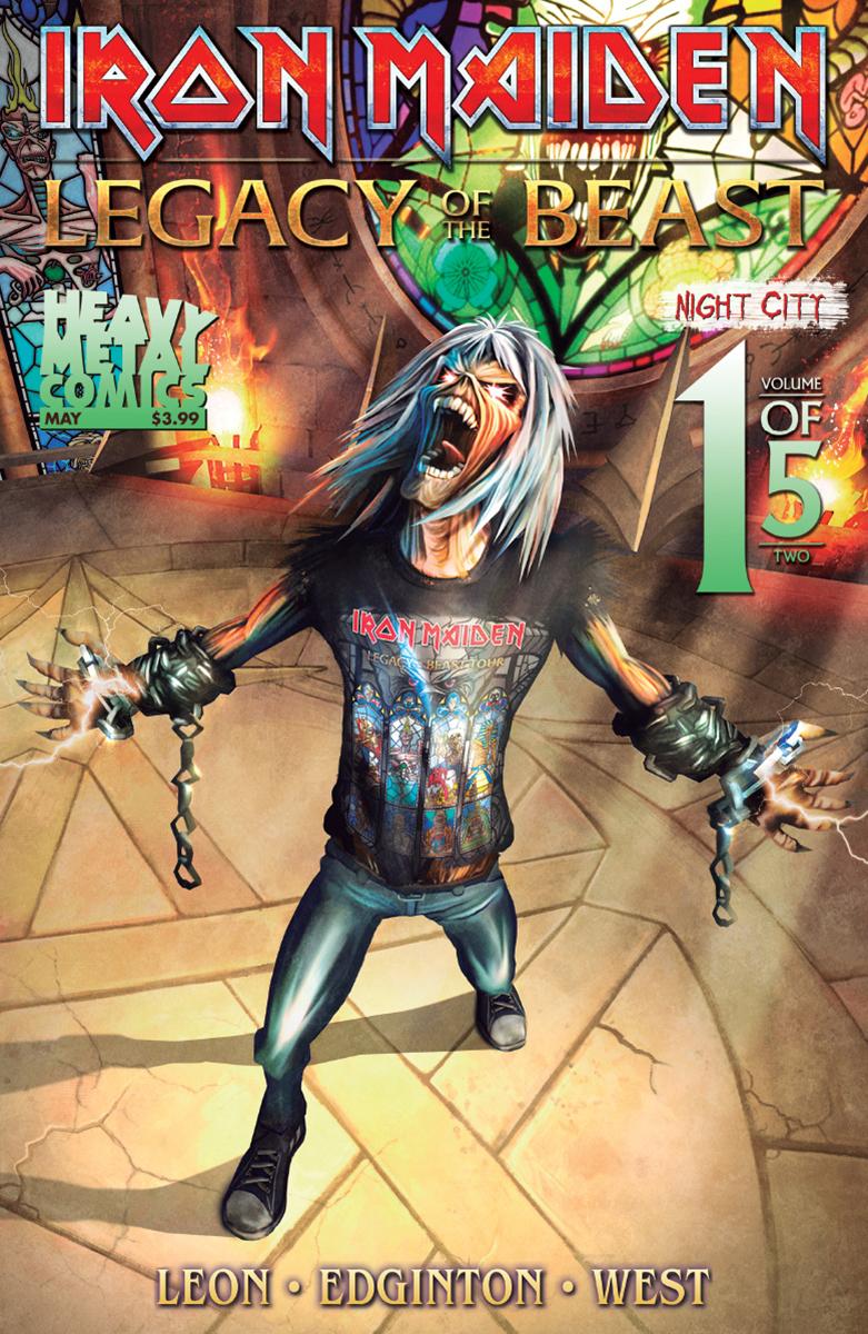 Iron Maiden: Legacy of the Beast Vol 2 - Night City #1 (2019)