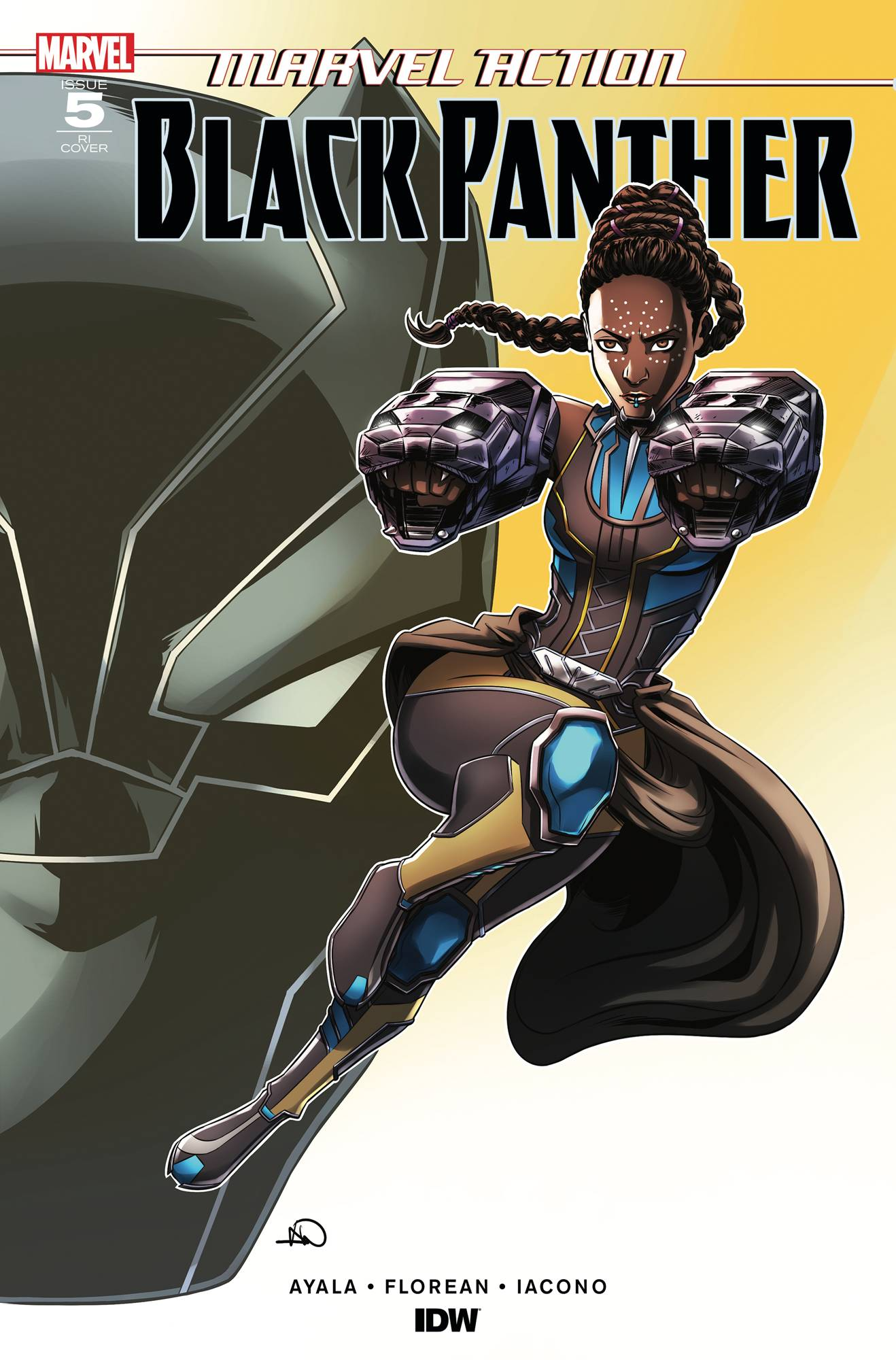 Marvel Action: Black Panther #5 (2019)