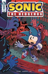 Sonic The Hedgehog #17 (2019)