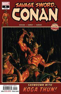 Savage Sword Of Conan #5 (2019)