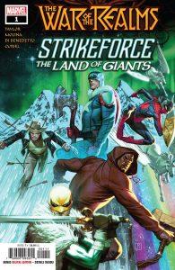 War Of Realms Strikeforce: Land Of Giants #1