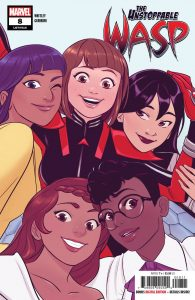 The Unstoppable Wasp #8 (2019)