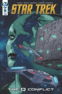 Star Trek: The Q Conflict #5 (2019)