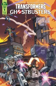 Transformers / Ghostbusters #1 (2019)