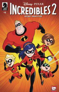 Disney / PIXAR The Incredibles 2: Secret Identities #3 (2019)