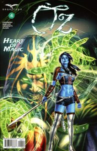 OZ The Heart Of Magic #4 (2019)