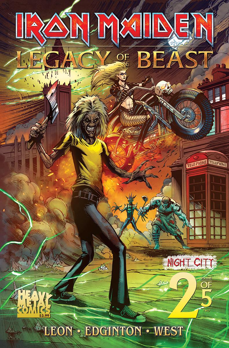 Iron Maiden: Legacy of the Beast Vol 2 - Night City #2 (2019)