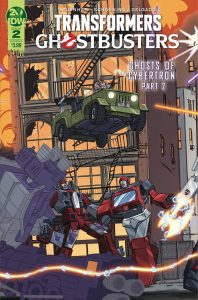 Transformers / Ghostbusters #2 (2019)