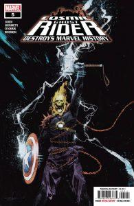 Cosmic Ghost Rider Destroys Marvel History #5 (2019)